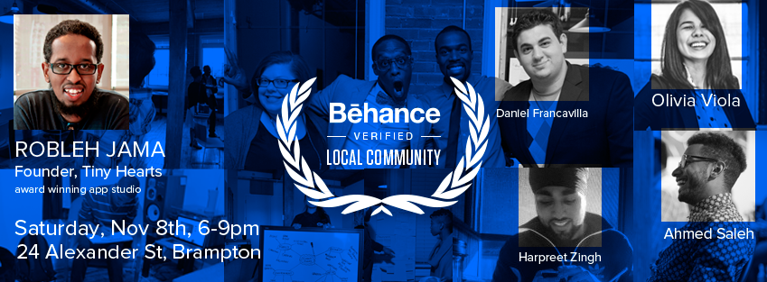 Behance Creative Portfolio Review in Brampton