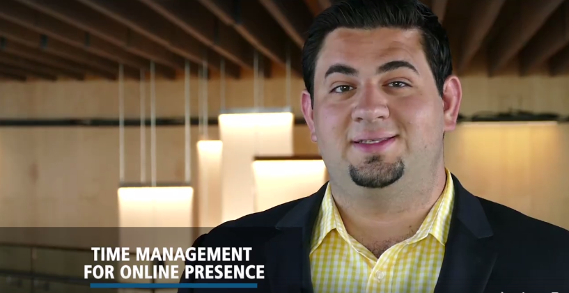 Managing Online Presence - Daniel Brampton Entrepreneur Centre WisdomWednesday